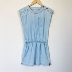 Zara Girls Casual collection Denim Dress Size 10